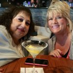 Lemon Drops...Birthday girl's weekend on the right...I sometimes call her Blondie..lol