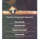 Our weekly specials. Updated April 12th 2017