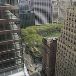 Good view of Bryant Park from our room