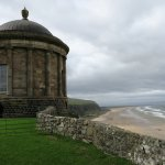 Mussenden Temple and Downhill Beach