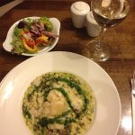 Mushroom risotto in Keanes @ Dromhall