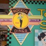 Rocko's Diner singage