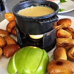 Pretzel Cheese Fondue