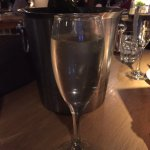 Prosecco! Beautifully dry with sweet notes.