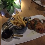 Spit roast chicken. Simple dish but the flavours were amazing!