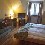 Maisonette-Doppelzimmer zum Park hin