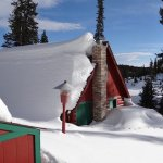 Snow on the roof.