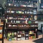 Bottle beer display