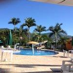 Uma das piscinas de água hidromineral.