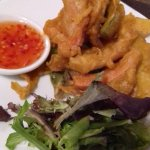 Tempura Vegetables with Sweet Chilli Dip
