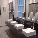 the elegant gentlemen's lavatories