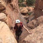 Climbing in Moab with Eric!