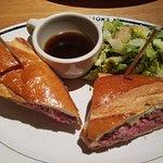Prime Rib French Dip Sandwich