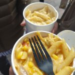 regular mac and cheese and spicy one
