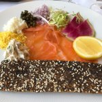 Smoked Salmon (lovely creamed cheese)