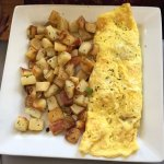 Build your own omelette & hash browns