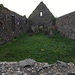 Church ruins down the road