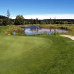 Myrtle Point golf club, rated as one of the hidden gems in BC.