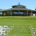 Myrtle Point's beautiful clubhouse is one of the most sought-after wedding venues in BC.