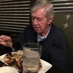 Dad loved it!   He had the BBQ Flight and refused to stop eating with just crumbs left.    Great