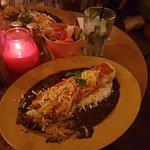 Vegetarian Enchiladas.