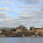 view of the Akershus Fortress