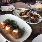 Mushroom, ricotta and parmesan arancini
