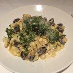 The tagliatelle dish! So delicious!!