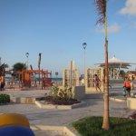 Playground at at Playa Langostas