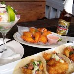 Ceviche, Fish Empanadas and Fish Tacos