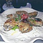 Italian roasted oysters