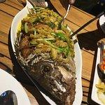 Fried Fish with Garlic