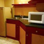 kichenette, fridge & microwave