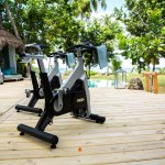 Get a workout in the privacy of your own villa