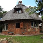 The Rondavel cottage, really Zimstyle.