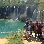 On our tour to Kravice