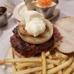 La superalfredos con cebolla y queso Philadelfia