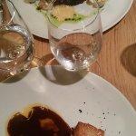 entrecote de porc sauce bourguignonne et bar