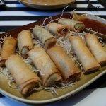 Seafood springroll