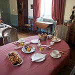 Breakfast - an exceptional spread (there was more on the sideboard!)