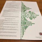 Cantina Laredo - menu