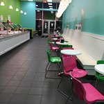 Sweet Frog - view from back of restaurant