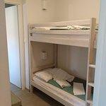3 ème chambre-cabine d'un 3 pièces - 6 personnes.