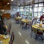 Breakfast/bar area Parque Funchal.