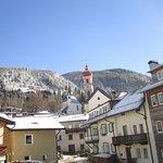 Unser Dorf im Winter