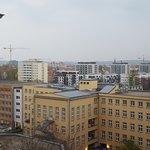 Ausblick über Dresden aus dem 7. Stock