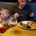 This was an evening meal at the Beefeater