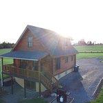 Conesus Log Cabin at Cobtree. Sleeps up to 8 people