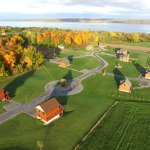An ariel view of the Cobtree Vacation Rental Resort