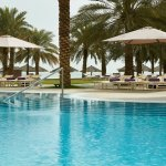 InterContinental Doha free-form swimming pool